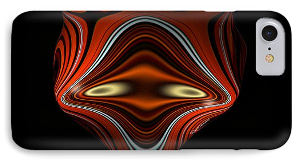 Mysterious Creature IPhone Case by Thibault Toussaint