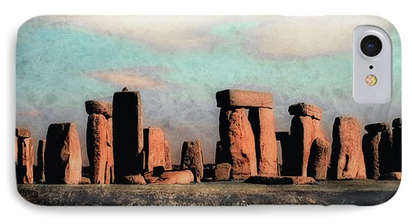 IPhone Case featuring the photograph Mysterious Stonehenge by Jim Hill