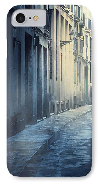 Mysterious Street IPhone Case by Svetlana Sewell
