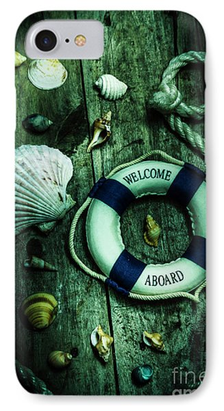 Mystery Aboard The Sunken Cruise Line IPhone Case by Jorgo Photography - Wall Art Gallery