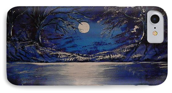 Mystery At Moonlight 1 Series IPhone Case by Mario Lorenz