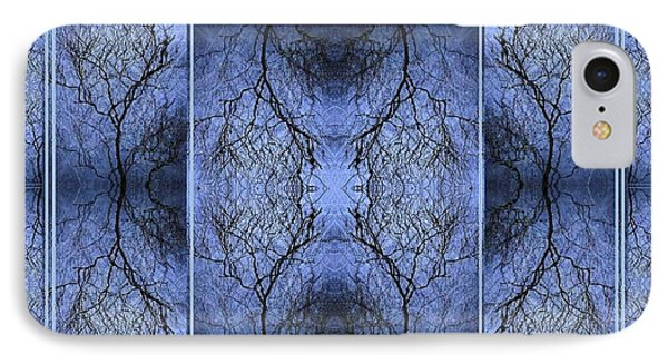 Mystery Blue IPhone Case by Joy Nichols