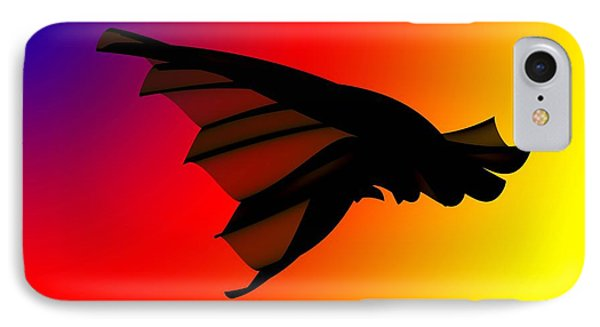 Mystery In Flight IPhone Case by Allen Beilschmidt