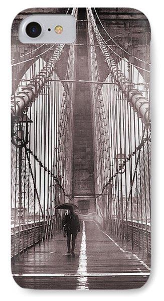 Mystery Man Of Brooklyn IPhone 7 Case by Az Jackson