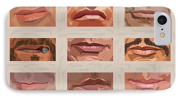 Mystery Mouths Of The Action Genre IPhone Case by Mitch Frey