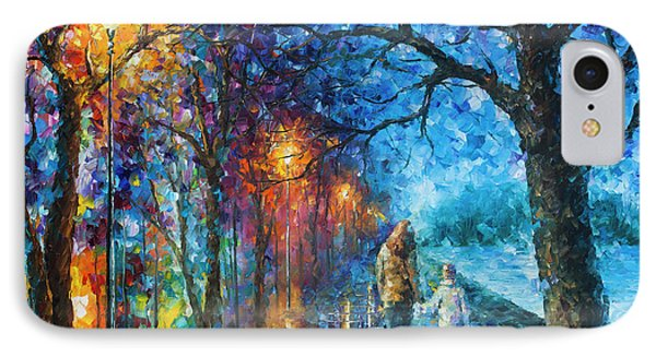 Mystery Of The Night Phone Case by Leonid Afremov