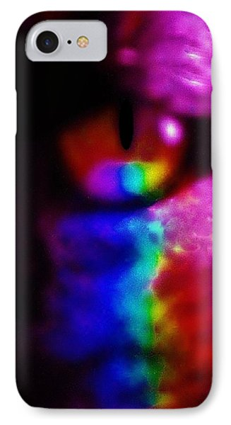 Mystic Feline IPhone Case by Cathy Long