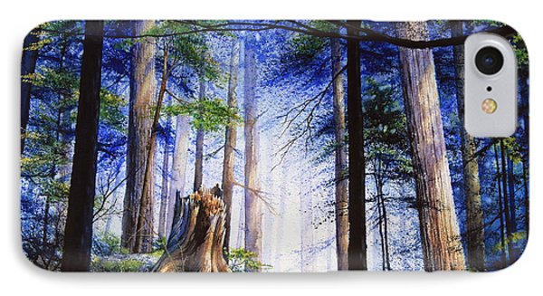 Mystic Forest Majesty Phone Case by Hanne Lore Koehler