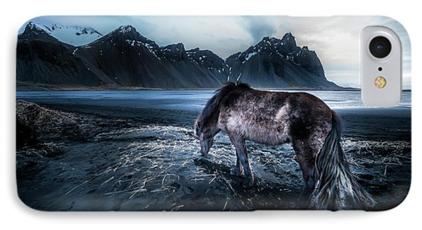 Mystic Icelandic Horse IPhone Case by Larry Marshall