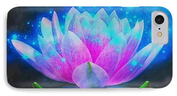 Mystic Lotus IPhone Case by Anton Kalinichev