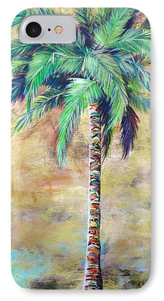 Mystic Palm IPhone Case by Kristen Abrahamson