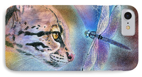 IPhone Case featuring the painting Mystic by Ragen Mendenhall