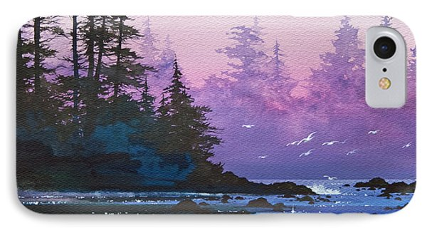 Mystic Shore Phone Case by James Williamson