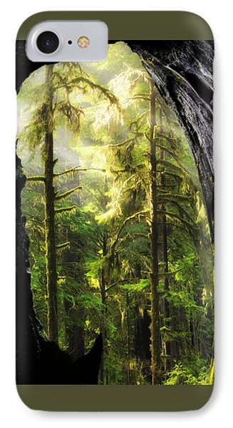 Mystical Forest Opening IPhone Case by Leland D Howard
