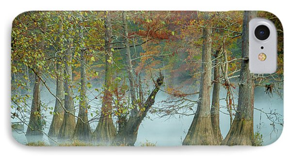 IPhone Case featuring the photograph Mystical Mist by Iris Greenwell