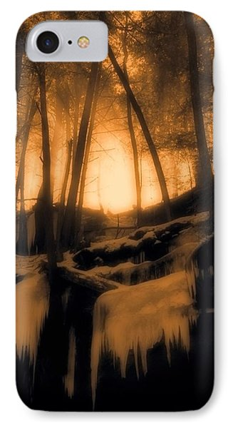 Mystical Morning Light In The Forest IPhone Case by Dan Sproul