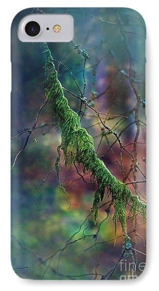 Mystical Moss - Series 1/2 IPhone Case by Agnieszka Mlicka