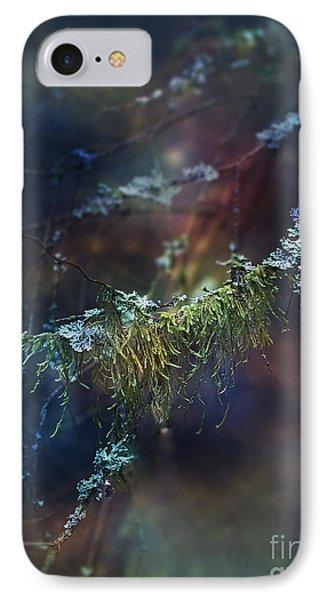 Mystical Moss - Series 2/2 IPhone Case by Agnieszka Mlicka