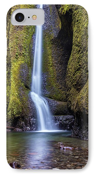 IPhone Case featuring the photograph Mystical Oneonta Falls by Pierre Leclerc Photography