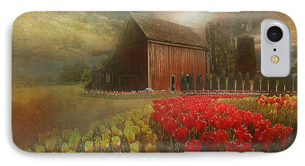 Mythical Tulip Farm IPhone Case