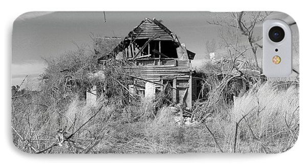 IPhone Case featuring the photograph N C Ruins 2 by Mike McGlothlen