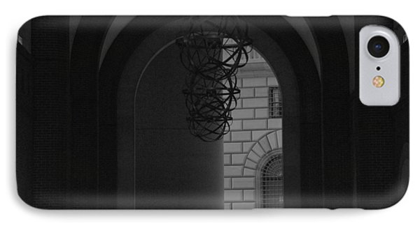 N Y C Lighted Arch Phone Case by Rob Hans