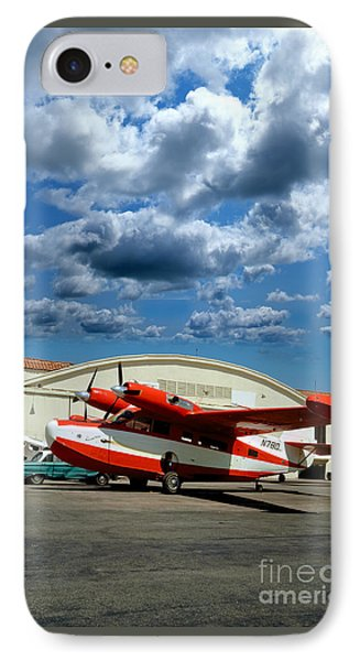 N780, Mckinnon G21g, Aleutian Goose, Turbo-prop IPhone Case by Wernher Krutein