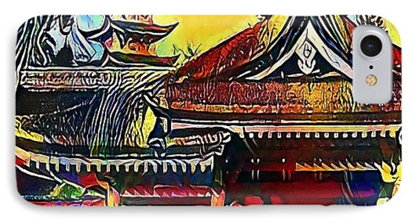Nachi, Japan At The Pagoda Of Seigantoji - My Www Vikinek-art.com IPhone Case by Viktor Lebeda