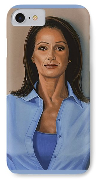 Nadia Comaneci IPhone Case by Paul Meijering