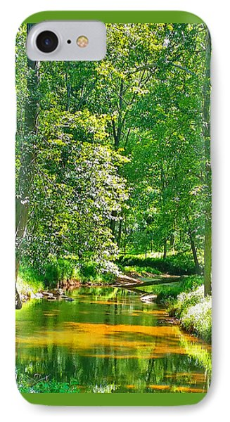 Nadine's Creek IPhone Case by Kathy Kelly
