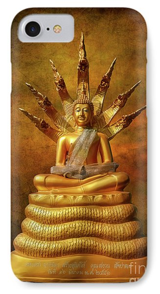 IPhone Case featuring the photograph Naga Buddha by Adrian Evans