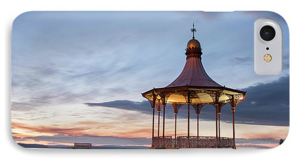 Nairn Bandstand At Dawn IPhone Case