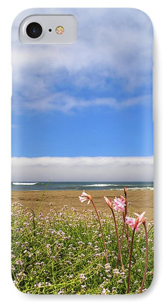 IPhone Case featuring the photograph Naked Ladies At The Beach by James Eddy