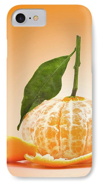 Naked Orange IPhone Case by Wim Lanclus