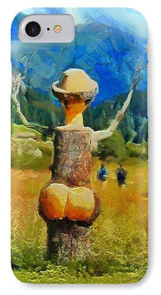 Naked Tree - Da IPhone Case by Leonardo Digenio