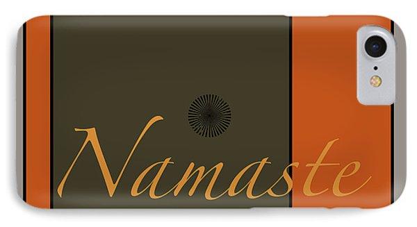 Namaste IPhone Case by Kandy Hurley