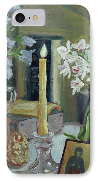Nameday Table Phone Case by Laura Wilson