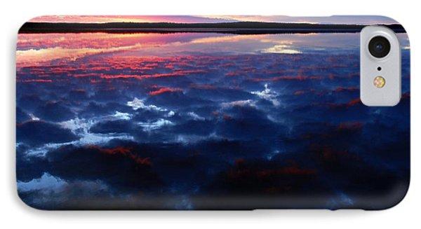 Namekus Lake Sunrise Phone Case by Larry Ricker