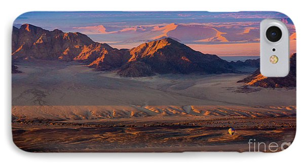 Namibia Balloon IPhone Case by Inge Johnsson