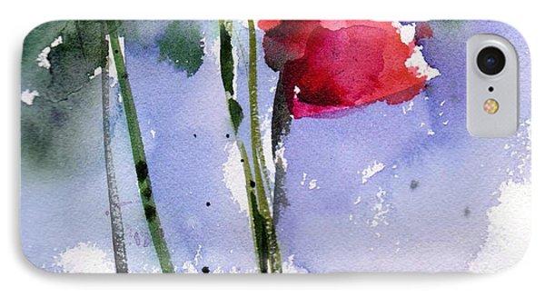 Nancy Jane's Rose IPhone Case by Anne Duke