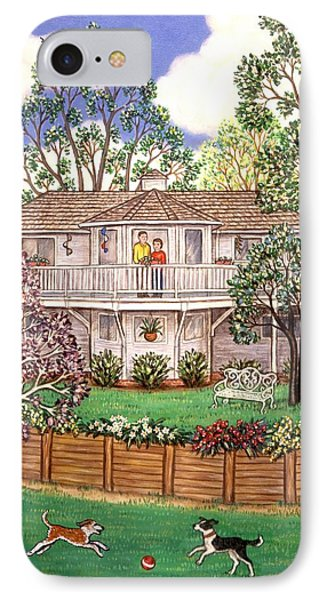 Nancy's House Phone Case by Linda Mears