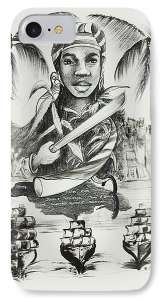 Nanny Of The Maroons IPhone Case by Ikahl Beckford