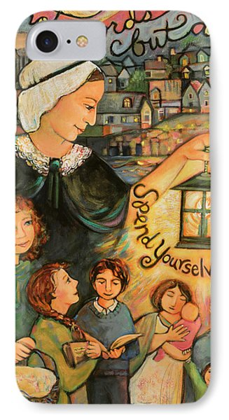 Nano Nagle, Foundress Of The Sisters Of The Presentation IPhone Case by Jen Norton