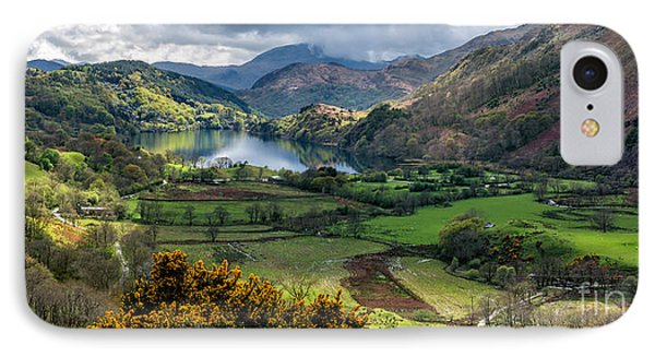Nant Gwynant Valley IPhone Case by Adrian Evans
