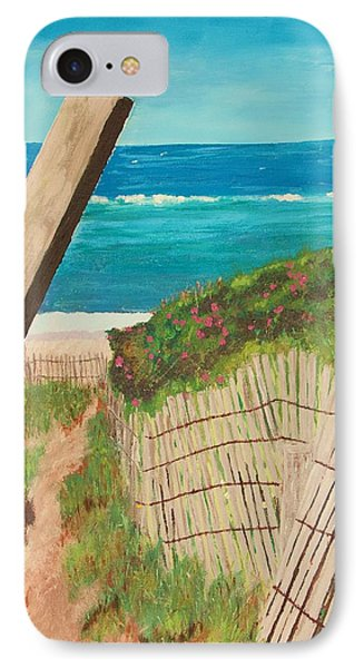 IPhone Case featuring the painting Nantucket Dream by Cynthia Morgan
