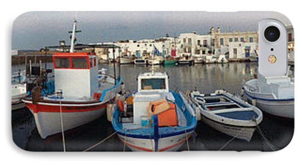 Naoussa Village Island Greece IPhone Case