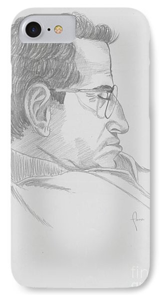 IPhone Case featuring the drawing Nap by Annemeet Hasidi- van der Leij