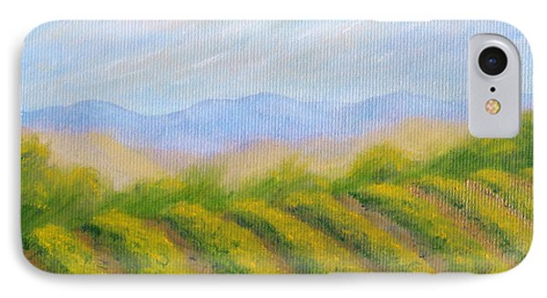 Napa Valley Vineyard Phone Case by Jerome Stumphauzer