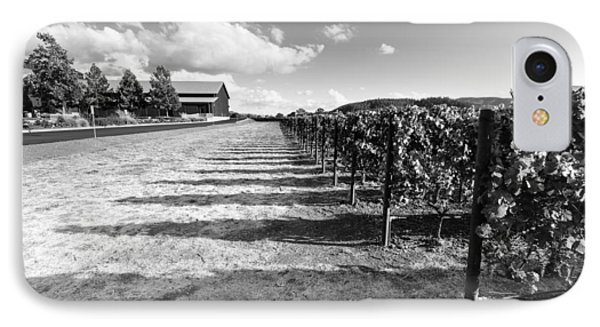 Napa Winery Rows IPhone Case by Paul Scolieri