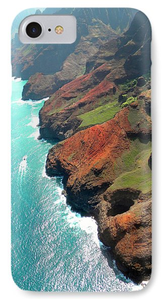 Napali Coast Of Kauai Phone Case by Frank Wilson